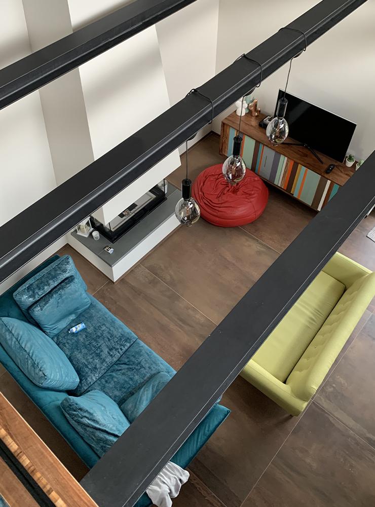 Residenza in stile industirale, Matera